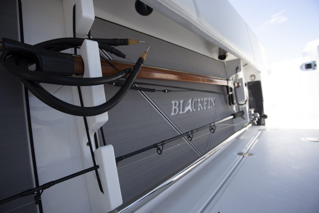 Blackfin 272cc Rod Storage Review