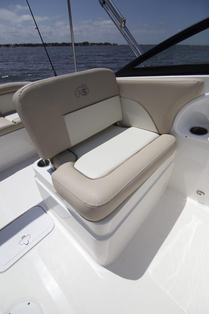 Nauticstar 2302 LDC Seat Review