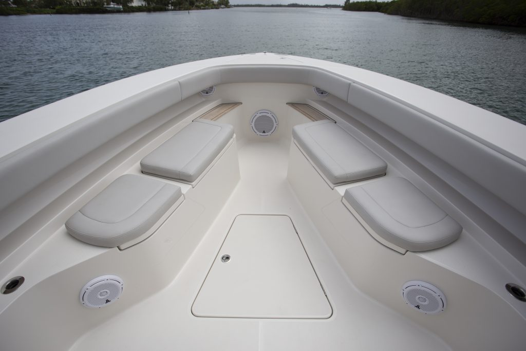 Jupiter 43 SF Seating Review