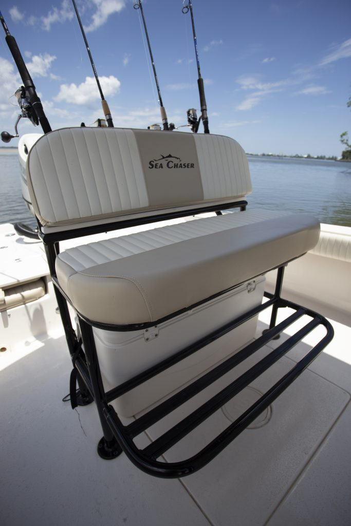 Sea Chaser 23 LX Helm Seat Review
