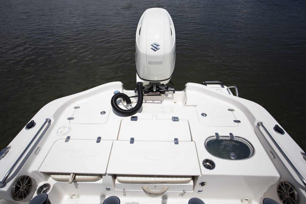 Sea Chaser 23 LX Rear Casting DEck Review