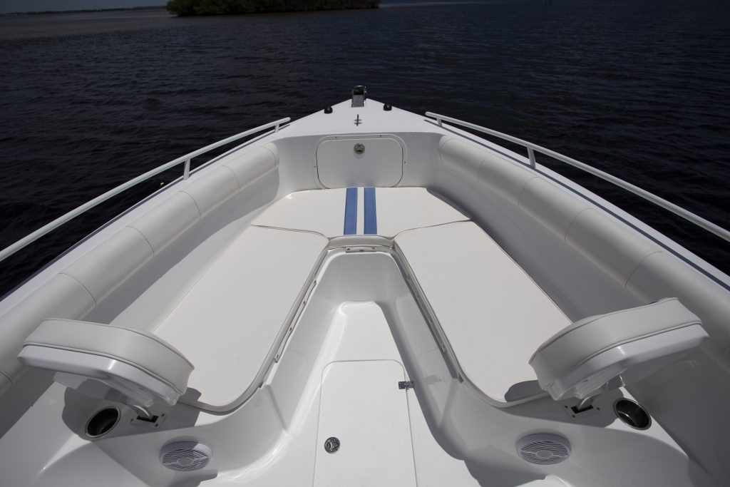 Arrowglass 248CC Bow Seating Review