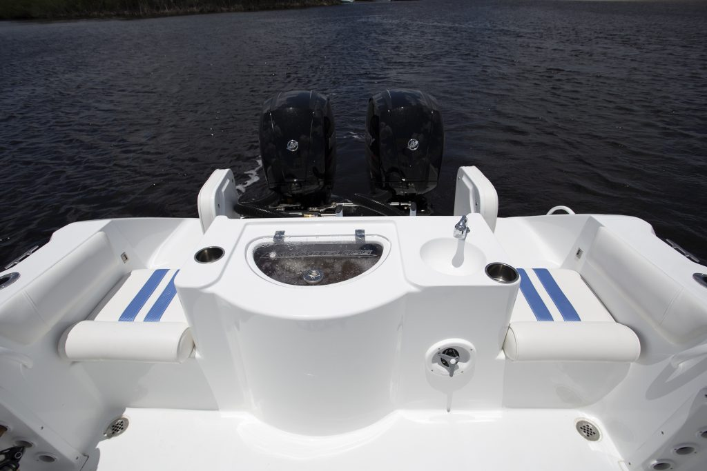 Arrowglass 248CC Stern Review