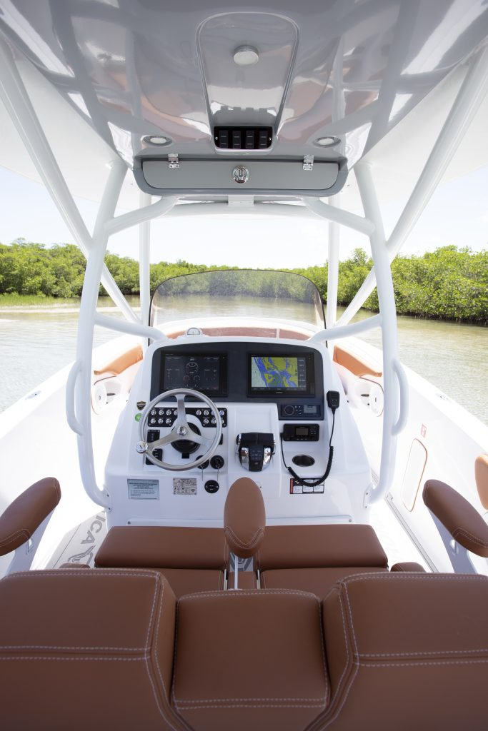 Pronautica 29 Open Helm Review