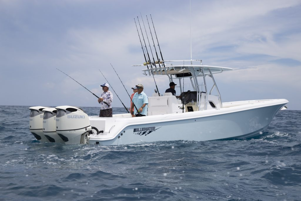 Bluewater 355 Fishing Review