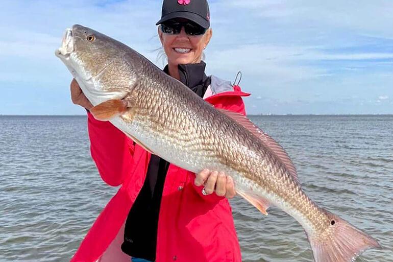 redfishing reports in tampa bay