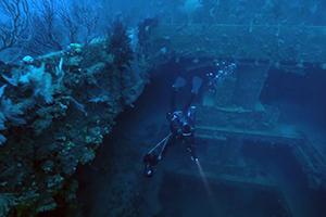 wreck diving Hillsboro Inlet