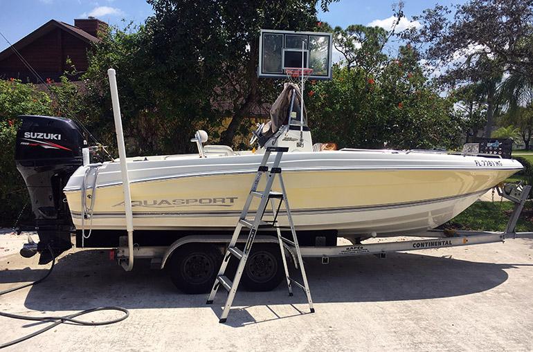 Entretien des bateaux et inspection des poulpes