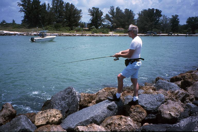 venice jetty coast fishing