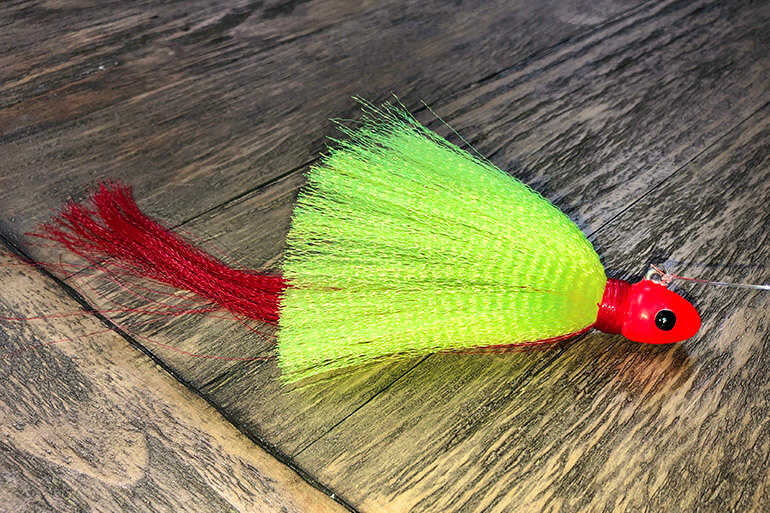 snook flair hawk jig