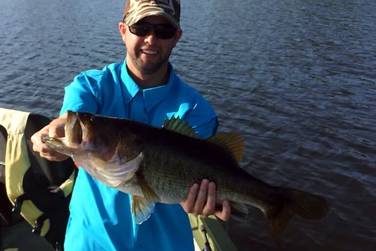 florida lakes for big largemouth bass