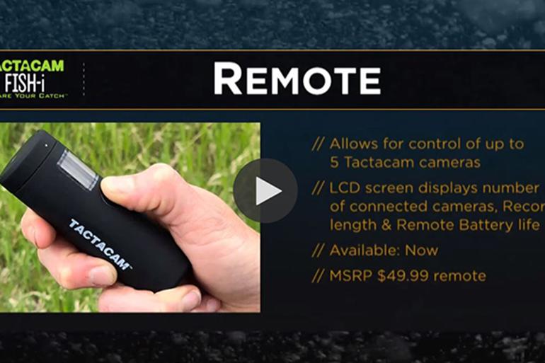 ICAST 2020: Tactacam Fish-I Camera and Remote