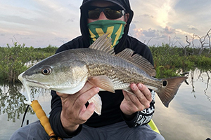 skinny water redfish