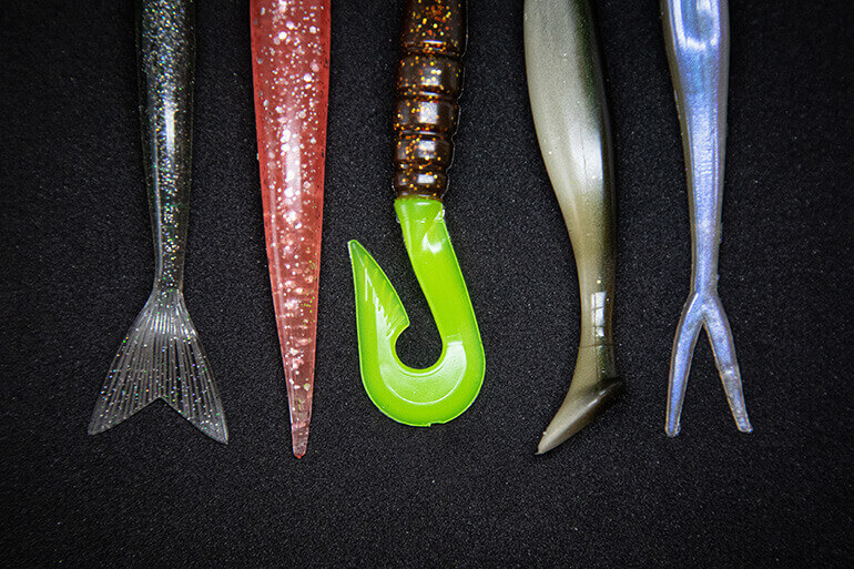 choosing soft plastics