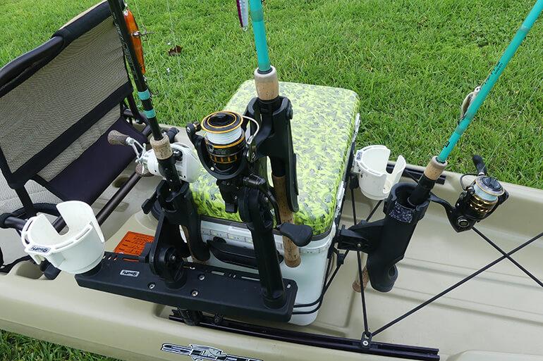 best rodholder setup