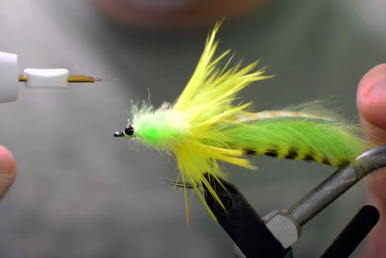 inshore fly ties