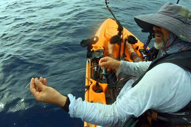 wreck fishing break off