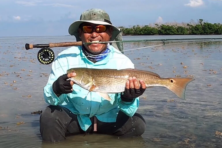 key west fly fishing redfish
