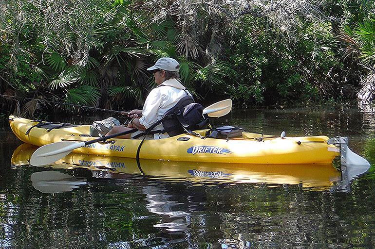 how to set hook in kayak