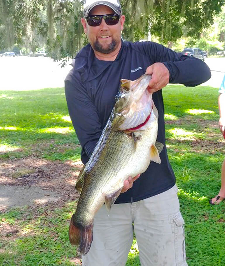 Trophycatch FWC record largemouth bass