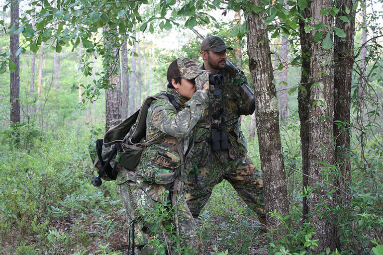 spring turkey scouting