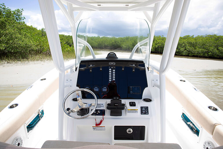 Sea Fox 268 Commander specs