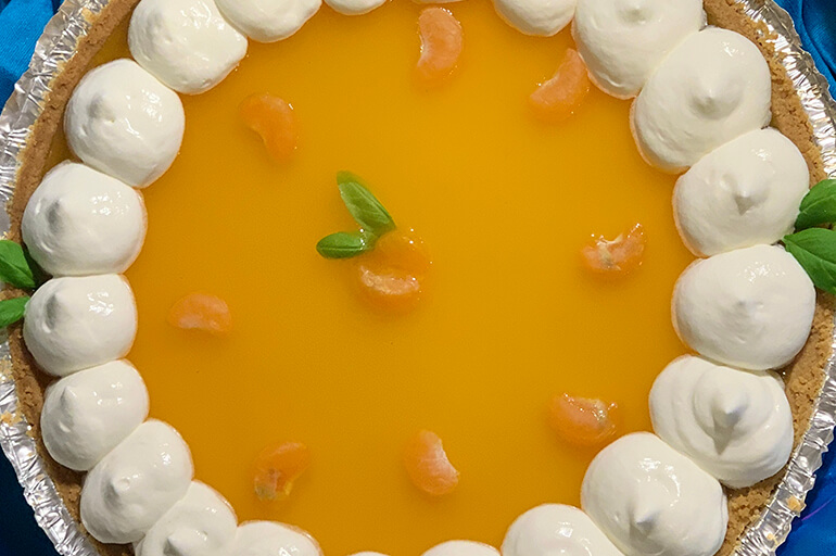 Easy Fresh-Picked Florida Citrus Pie