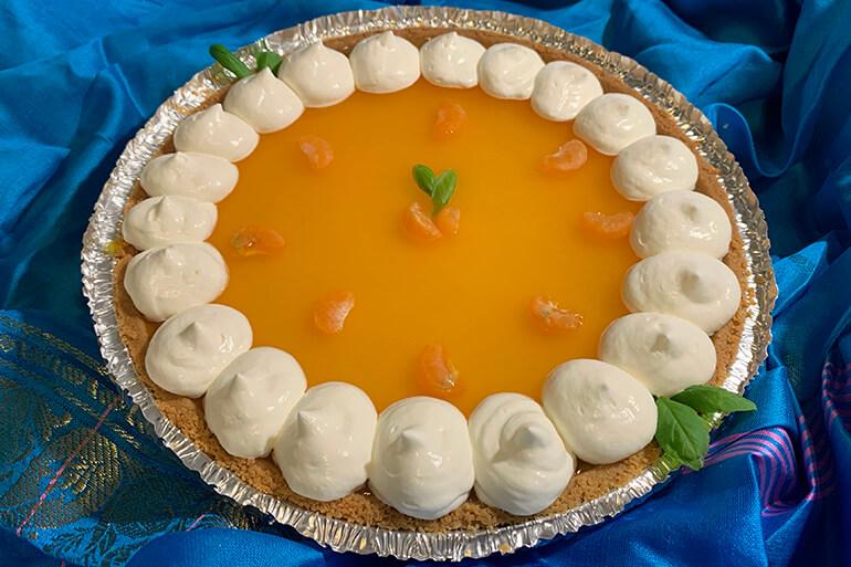 easy orange pie