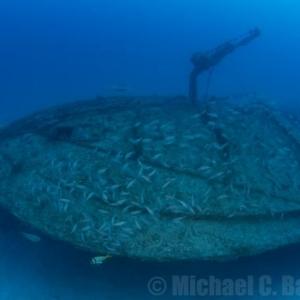 Deep Shipwreck off Miami