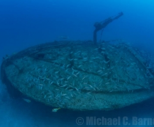 Deep Shipwreck off Miami