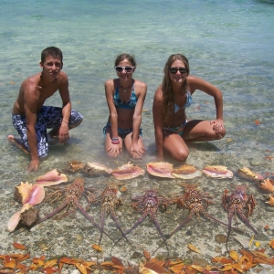 Conch and Lobsters Galore