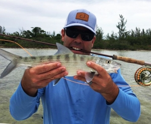 First Bonefish on Fly