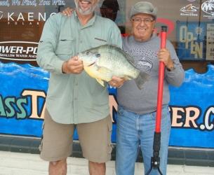 World Record Redear Sunfish!