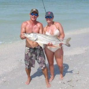 Big Beach Snook!