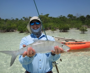 Kayak Bonefish