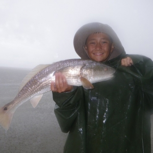 Rainy Day Redfish