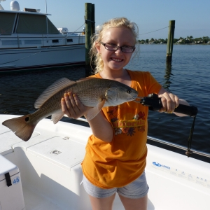 Redfish on a Dock