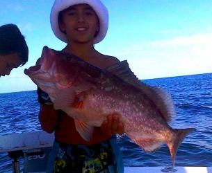 First Keeper Red Off Palm Beach