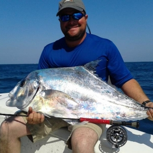 African Pompano on Fly